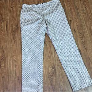 Tory Burch Isabella Scalloped Crop Dress Pants